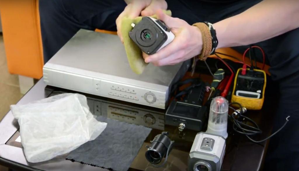 Техническое обслуживание и ремонт камер наблюдения