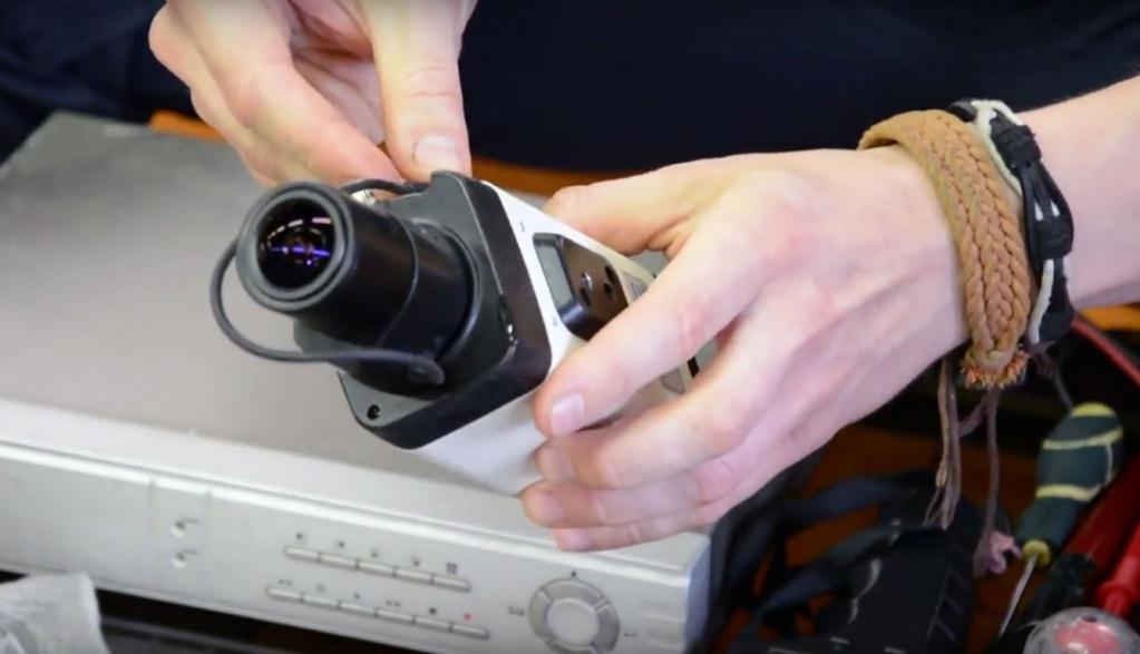 Обслуживание и ремонт камер видеонаблюдения